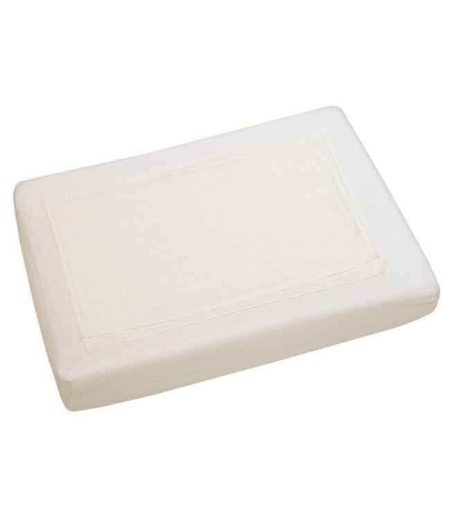 Changing pad fitted cover - natural