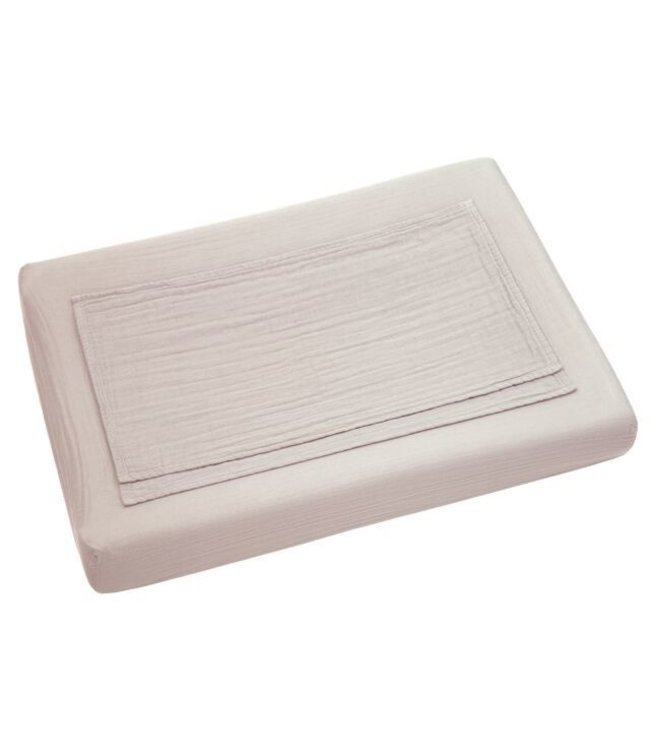 Changing pad fitted cover - powder