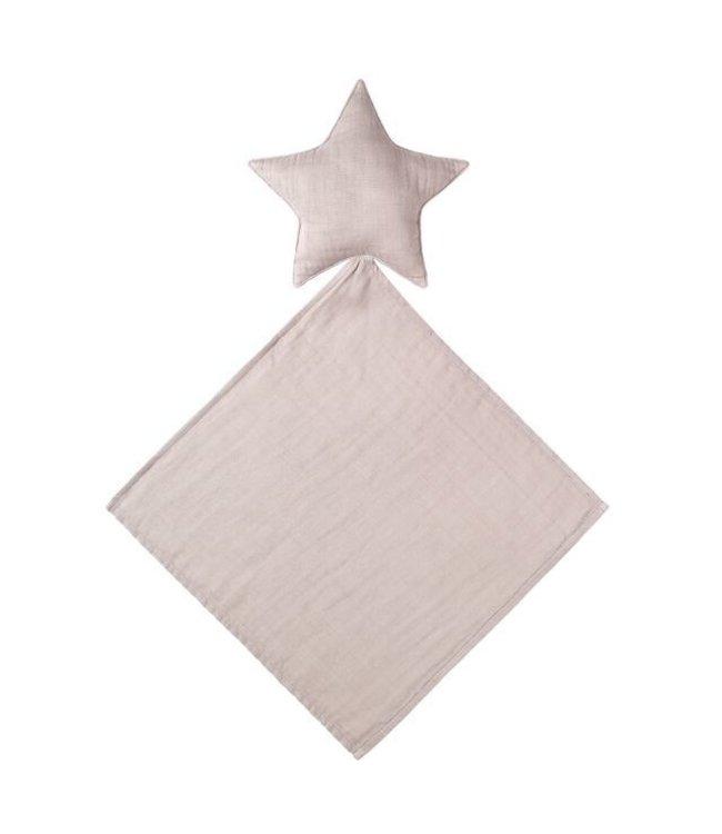 Lovey star doudou - powder