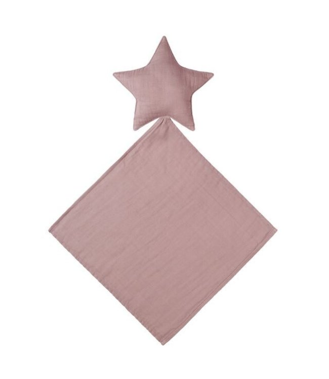Numero 74 Lovey star doudou - dusty pink