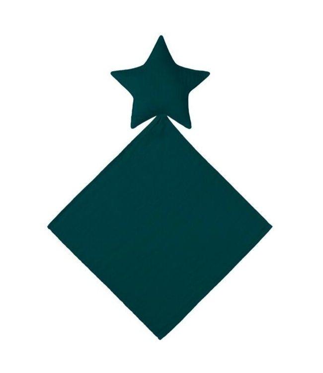 Numero 74 Lovey star doudou - teal blue