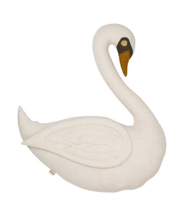 Vicky swan cushion