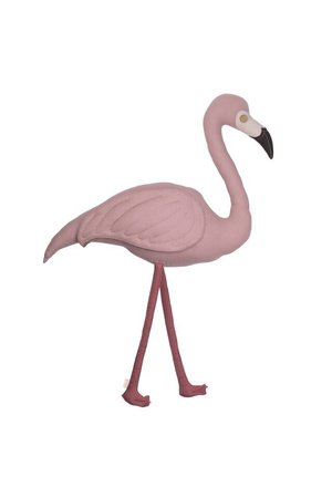 Numero 74 Polly flamingo cushion