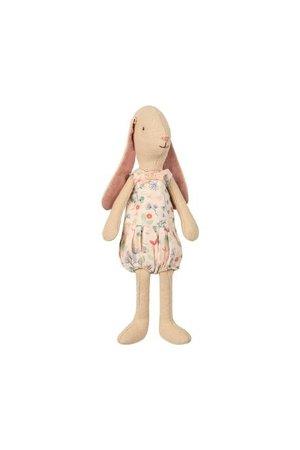 Maileg Mini bunny light flower suit - rose