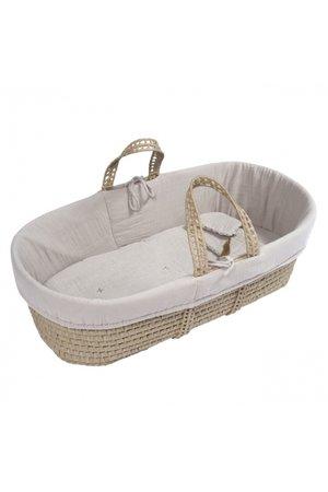 Numero 74 Moses basket - bed linen - powder