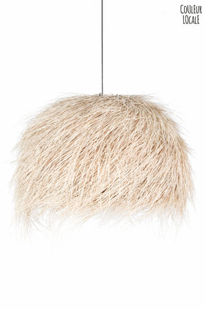 Rock The Kasbah Hanglamp demi-boule palm - naturel