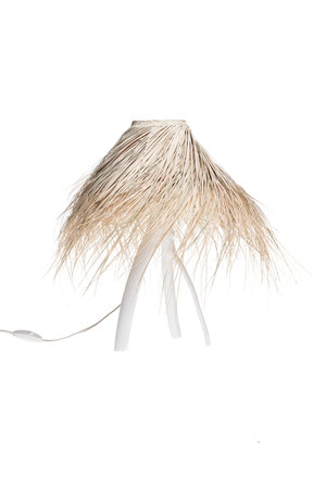 Rock The Kasbah Palm table lamp 'Tak' - white