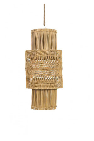 Rock The Kasbah Suspension lamp Seagrass 'Candil'