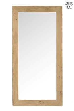 Spiegel olmhout - 80 x 200cm