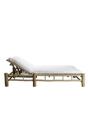 Tine K Home Bamboe dubbel ligbed met witte matras