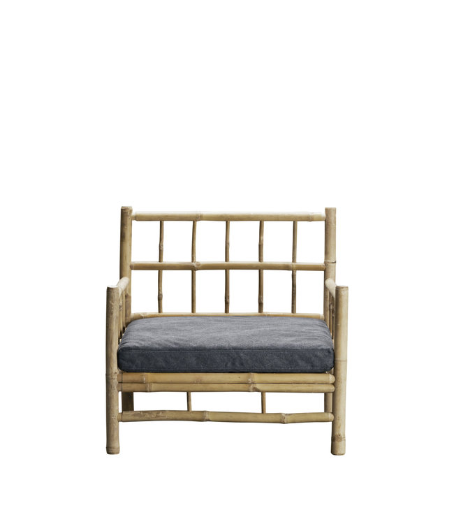 Tine K Home Bamboo lounge chair with phantom mattress