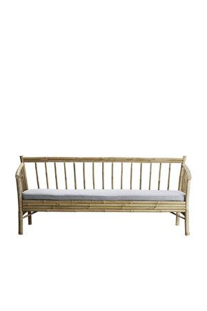 Tine K Home Bamboe new lounge zetel met grijze matras