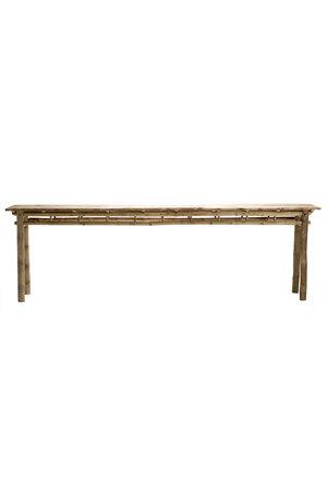 Tine K Home Bamboe console tafel 280cm