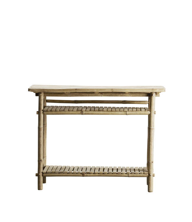 Bamboe console tafel