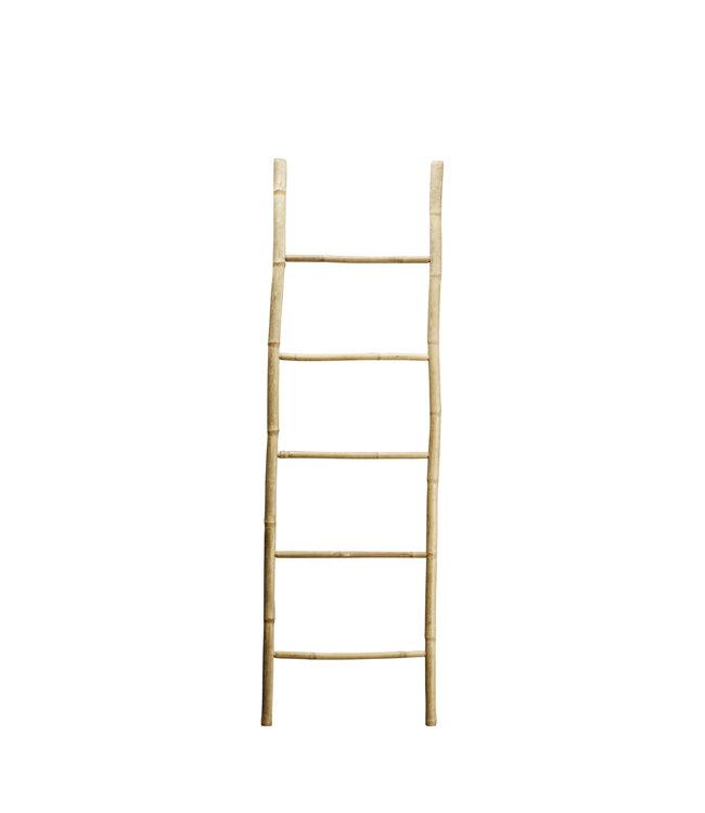 Bamboo deco ladder - natural