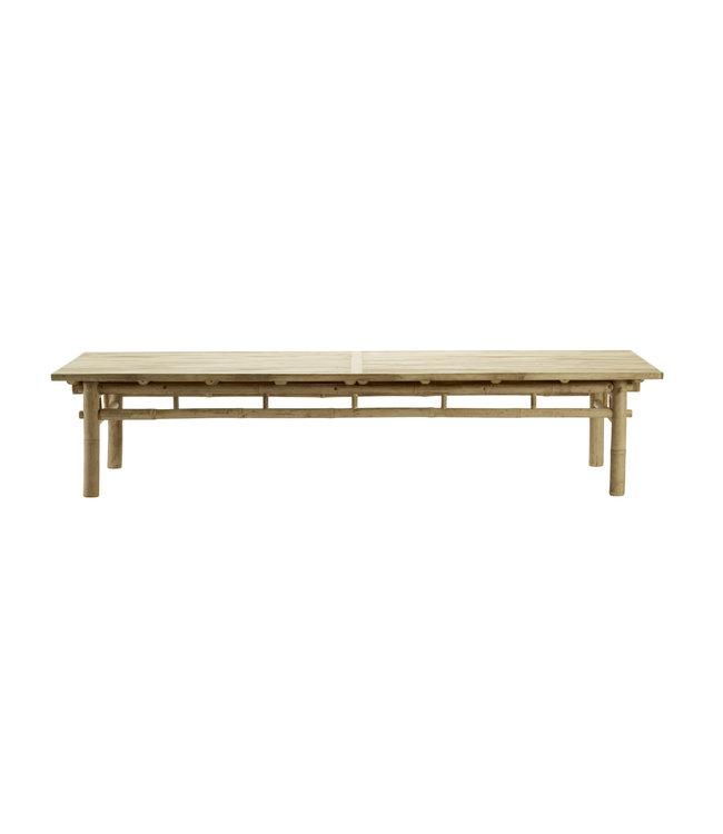 Bamboo lounge table