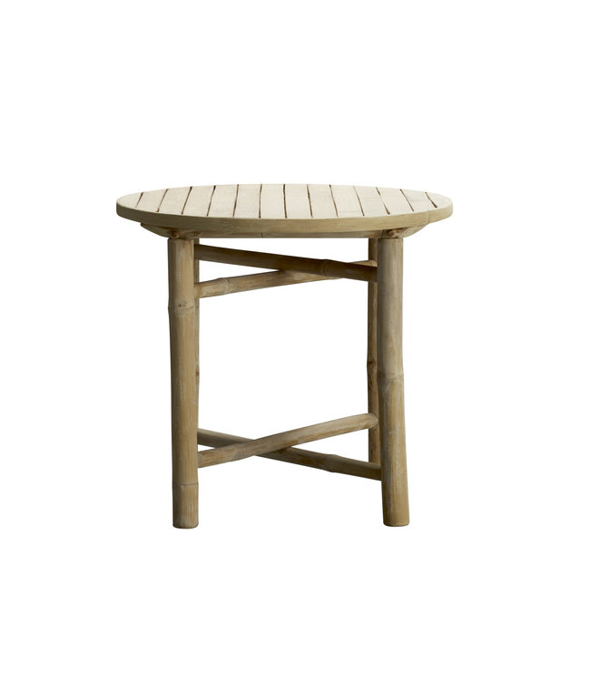 Tine K Home Bamboo round side table