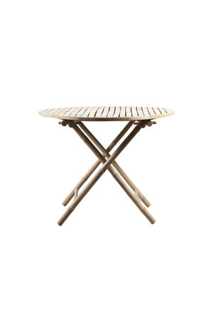 Tine K Home Bamboo round folding table