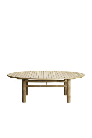 Tine K Home Bamboe lounge tafel rond