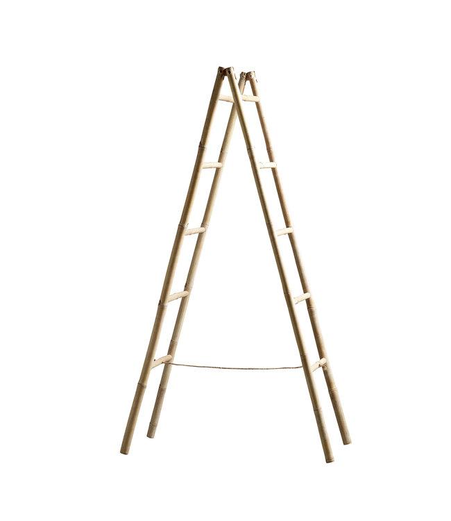 Bamboe deco ladder - naturel