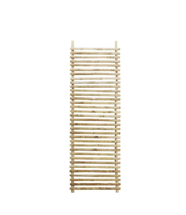 Bamboo wall hanger deco - natural