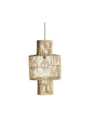 Tine K Home Hanging lamp shade in rattan 'hangbird'