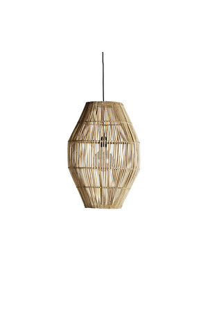 Tine K Home Hanging lamp shade in rattan ' hangdome'