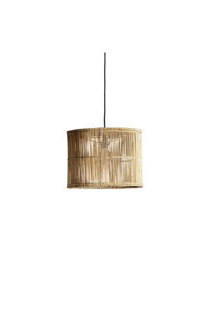 Tine K Home Hanging lamp shade in rattan 'hangstraight'
