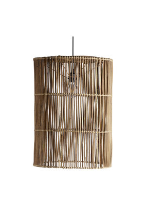 Tine K Home Large lamp shade in rattan 'hangtube xl'