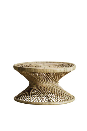 Tine K Home Table in rattan - natural
