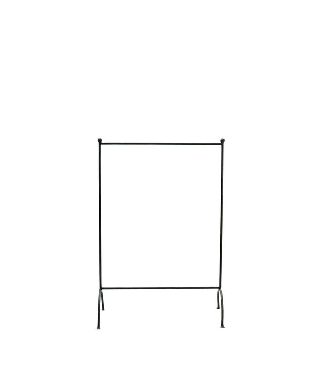 Childrens clothes rack in iron - black