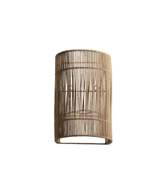 Rotan wandlamp
