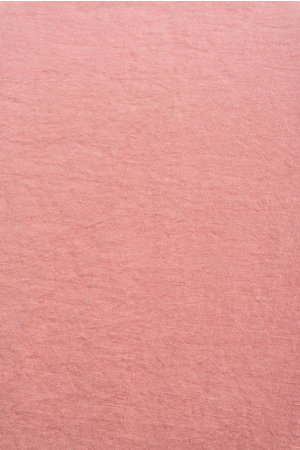 Linge Particulier Pillow case linen - lychee