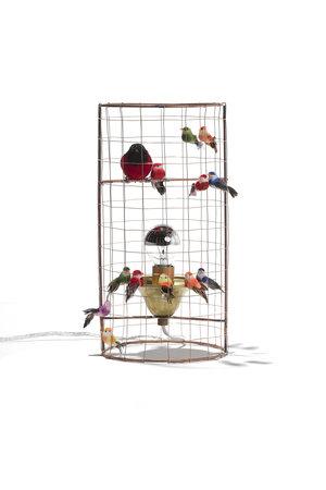 Challières Mini birdcage lamp