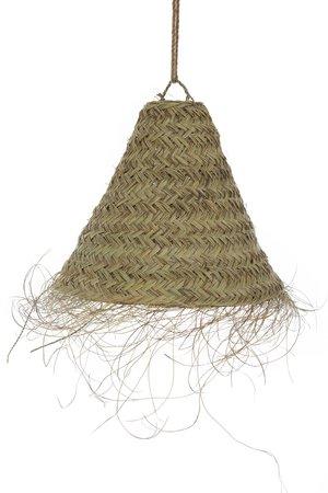 Conische hanglamp zeegras