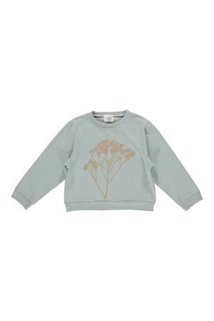 GRO Sweater 'Gert' - aqua grey