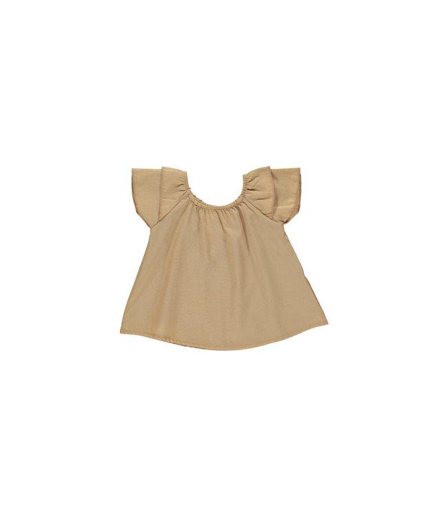 Baby dress 'Louise' - caramel