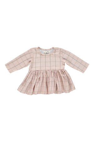 GRO Baby dress 'Lina Tinkerbell' - light rose