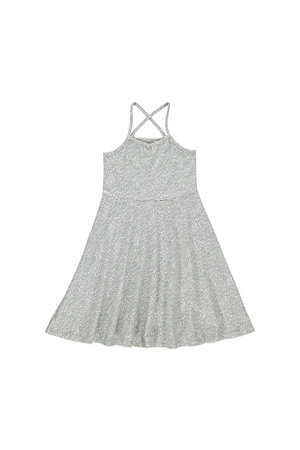 GRO Sun dress 'Canne' - white/seagrass