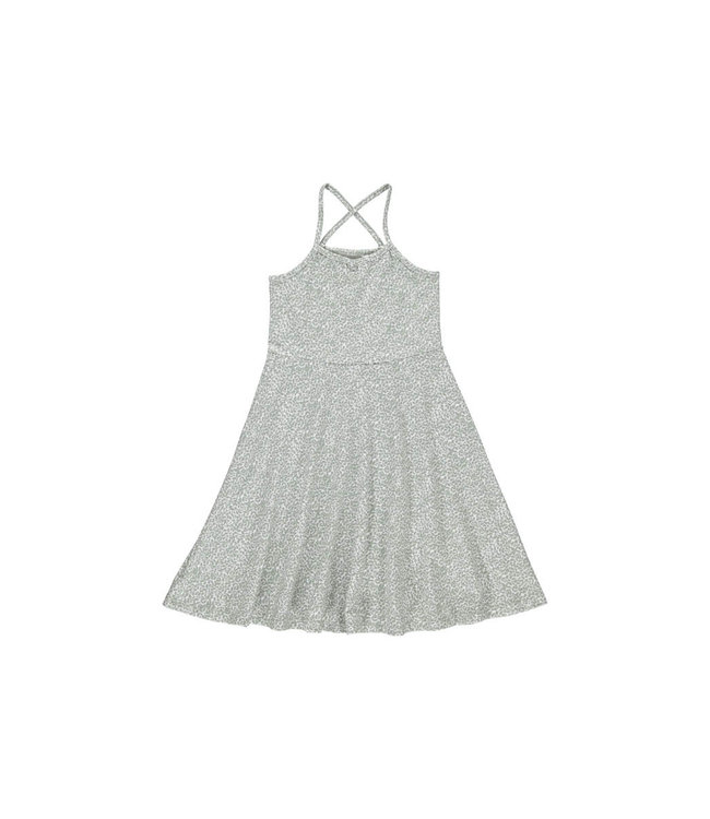 Sun dress 'Canne' - white/seagrass