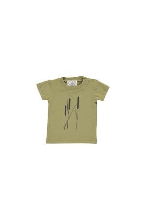 GRO T-shirt 'Norr' - ceder