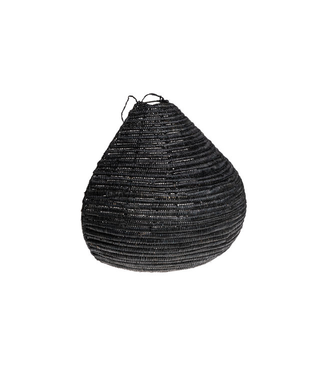 Wall lamp seagrass black