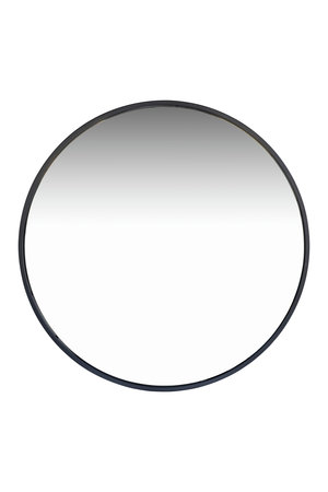Tine K Home Ronde spiegel metalen frame - zwart