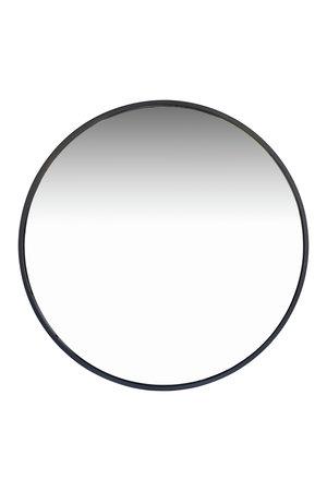 Tine K Home Round mirror metal frame - black