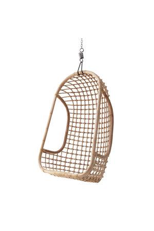Hanging rattan chair - natural