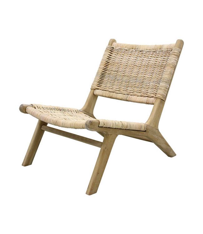 Vintage Lounge Stoel.Couleur Locale Wicker Lounge Chair Couleur Locale