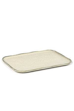 Merci for Serax Plate rectangular Merci no. 1 XL off-white