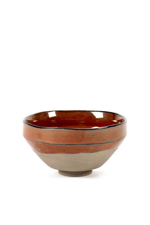Merci for Serax Bowl Merci no. 3 medium red