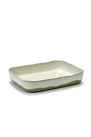 Merci for Serax Oven dish Merci no. 10 broken white