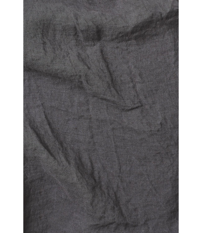 Kussensloop linnen - storm grey